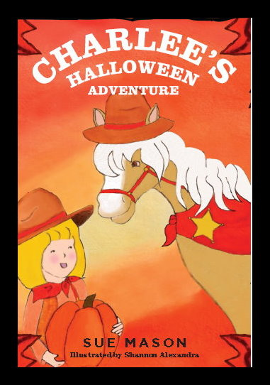Charlee's Halloween Adventure Book by Sue Mason