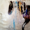 "The Paint by Jodi Maas - Full Size Wall Canvas 50"" x 50"" Gorgeous Original"
